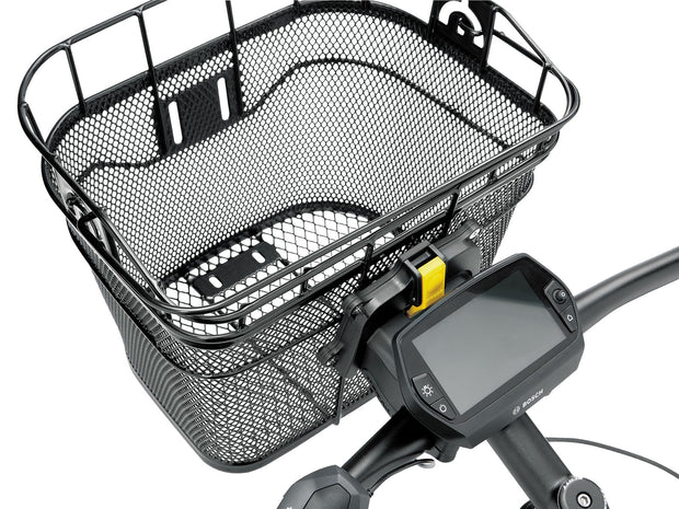 Topeak Front Basket Black with E-Bike Mount