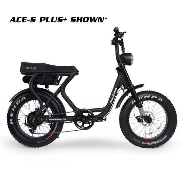 ACE-S PLUS Electric Bike - Black