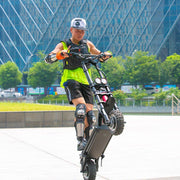 Wolf Warrior 11 Scooter Wheelie