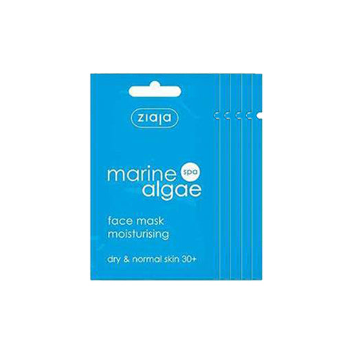 5x Ziaja Marine Algae Face Mask 7Ml