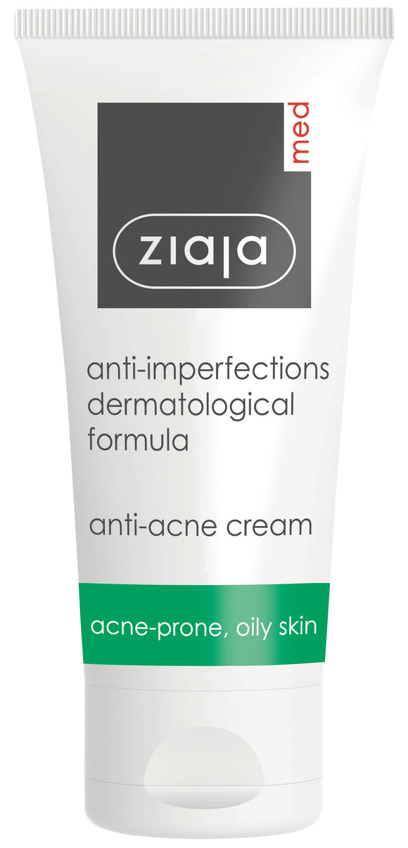 Ziaja Med Anti-Imperfections Formula Anti-Acne Cream 50Ml