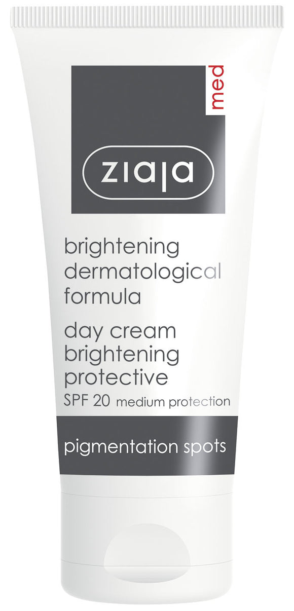 Ziaja Med Brightening Protective Day Cream Spf 20 50Ml