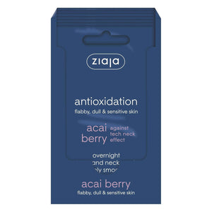 Ziaja Acai Berry Overnight Face And Neck Smoothing Mask 7Ml