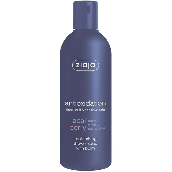 Ziaja Acai Berry Shower Soap With Body Balm 300Ml