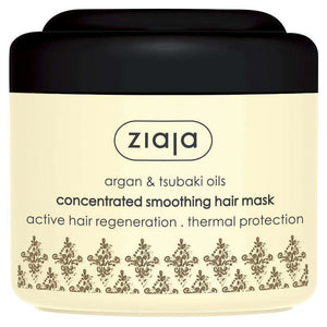 Ziaja Argan And Tsubaki Oils Concentrated Smoothing Hair Mask 200Ml