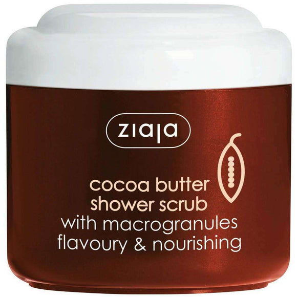 Ziaja Cocoa Butter Shower Scrub With Macrogranules 200Ml