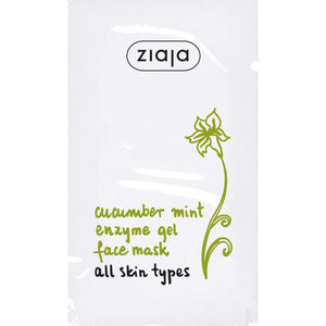 Ziaja Cucumber Mint Enzyme Gel Face Mask 7Ml