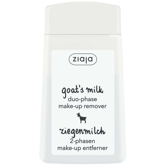 Ziaja Goat's Milk Duo Phase Make-Up Remover Eyes And Lips 120Ml