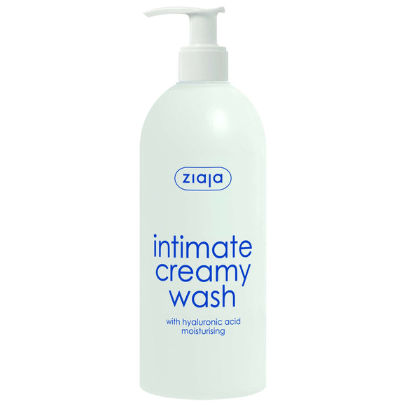 Ziaja Intimate Creamy Wash With Hyaluronic Acid – Dispenser 500Ml