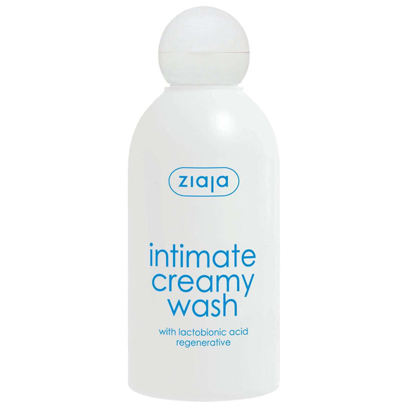 Ziaja Intimate Creamy Wash With Lactobionic Acid 200Ml