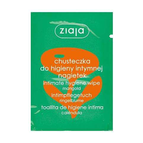 Ziaja Intimate Hygiene Wipe Marigold 7Ml