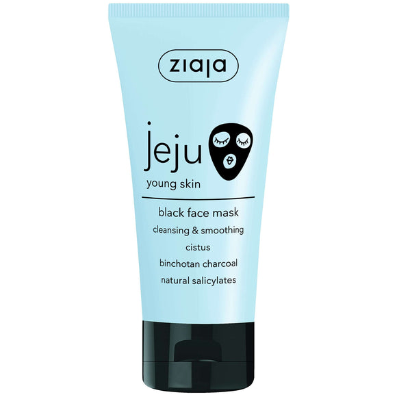 Ziaja Jeju Black Face Mask 50Ml
