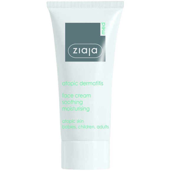 Ziaja Med Atopic Skin Face Cream Soothing Moisturising 50Ml