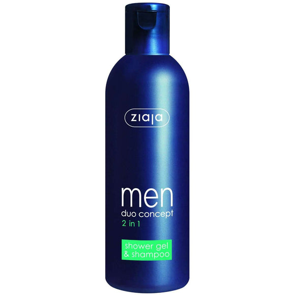 Ziaja Men 2 In 1 Shower Gel & Shampoo 300Ml