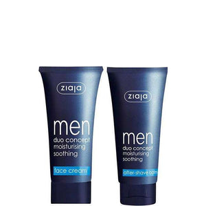 Ziaja Men Face Cream Spf 6 50Ml + After-Shave Balm 75Ml