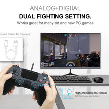 Load image into Gallery viewer, For PS4 Pro Bluetooth Wireless/Wired Controller For SONY PS4 Pro Slim Gamepad For PlayStation 4 Joystick For PS3 For Dualshock