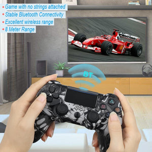 For PS4 Pro Bluetooth Wireless/Wired Controller For SONY PS4 Pro Slim Gamepad For PlayStation 4 Joystick For PS3 For Dualshock