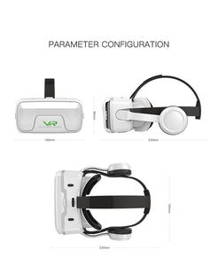 VR Shinecon 10.0 Helmet 3D Glasses Virtual Reality Casque For Smartphone Smart Phone Goggles Headset Viar Video Game Binoculars