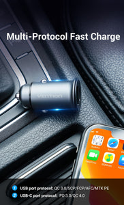 USB Type C Quick car Charger