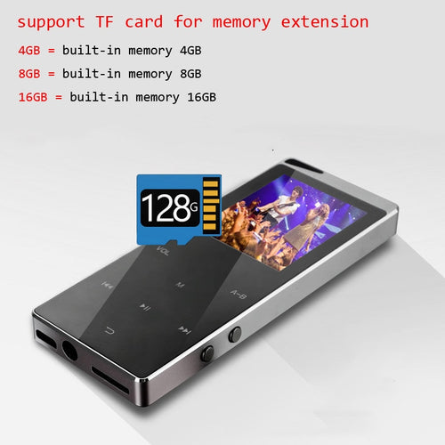 2021 New Bluetooth MP4 Music Player