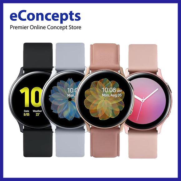 Samsung Galaxy Watch Active 2 40mm (1 Year Samsung Warranty) - eConcepts