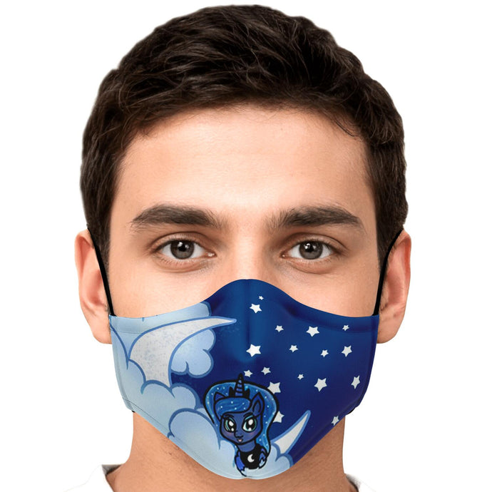 Luna Moonlight Face Mask With Nose Wire & Filters