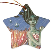 Load image into Gallery viewer, Double Sided Ceramic Ornament- Coraline