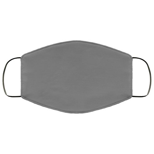 Dark Gray Face Mask- Made In USA- Ships in 2 days