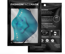 Load image into Gallery viewer, Custom Commission  Polyester Face Mask  w /filters and nose wire