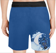 Load image into Gallery viewer, Princess Luna Mens Swim Trunks