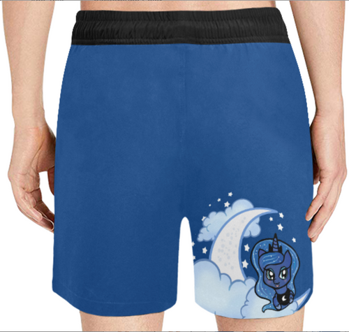 Princess Luna Mens Swim Trunks