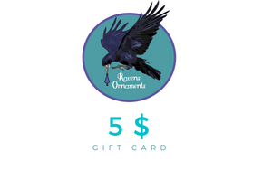 Ravens Ornaments Gift Card
