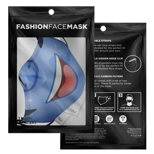 SLPonycon Mascot Face Mask- Polyester With Carbon Filters