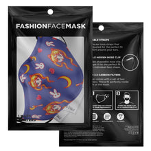 Load image into Gallery viewer, Usagi Face Mask With Nose Wire & Filters - Fashion Accessory!