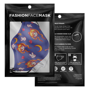 Usagi Face Mask With Nose Wire & Filters - Fashion Accessory!