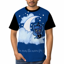 Load image into Gallery viewer, Over The Moon All Over Printed Unisex T-shirt