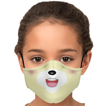 Load image into Gallery viewer, Isabelle Doggo Face Mask With Nose Wire & Carbon Filters