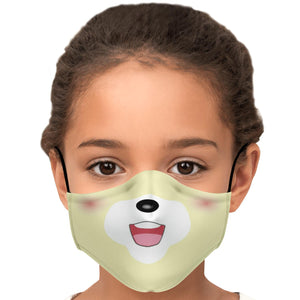 Isabelle Doggo Face Mask With Nose Wire & Carbon Filters