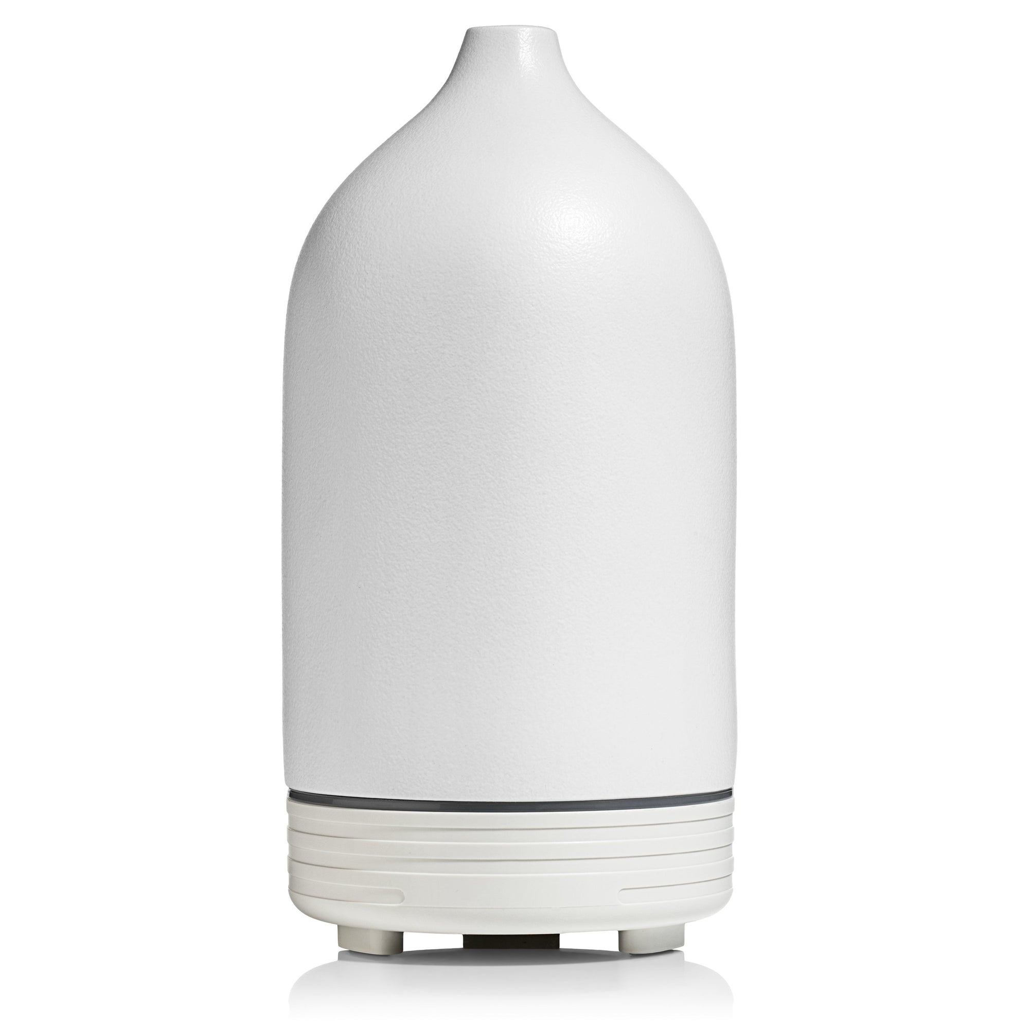 White Ceramic Ultrasonic Essential Oil Diffuser