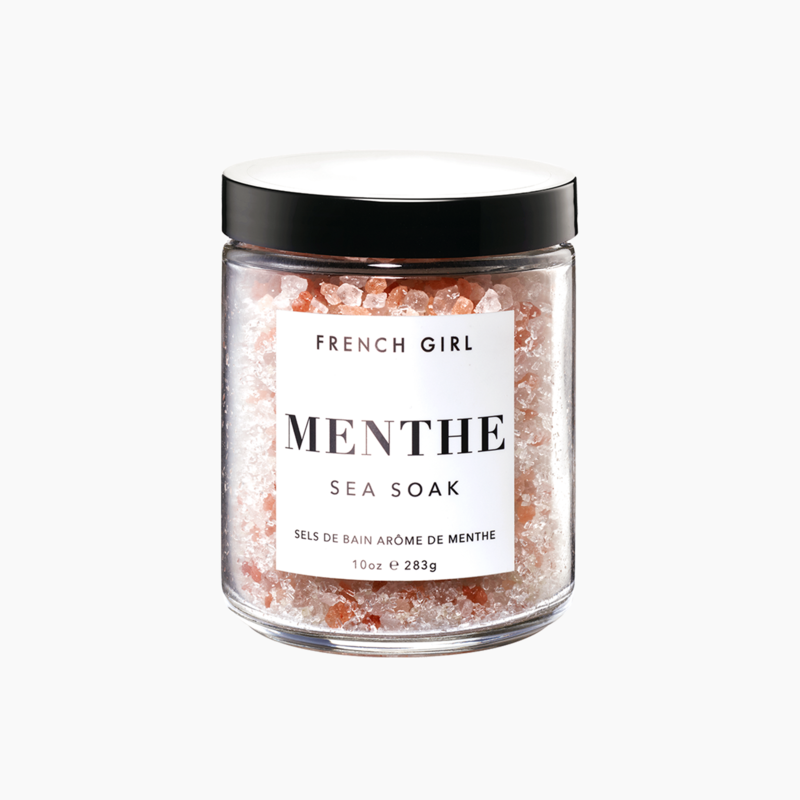 Mint Sea Soak Enlivening Bath Salts