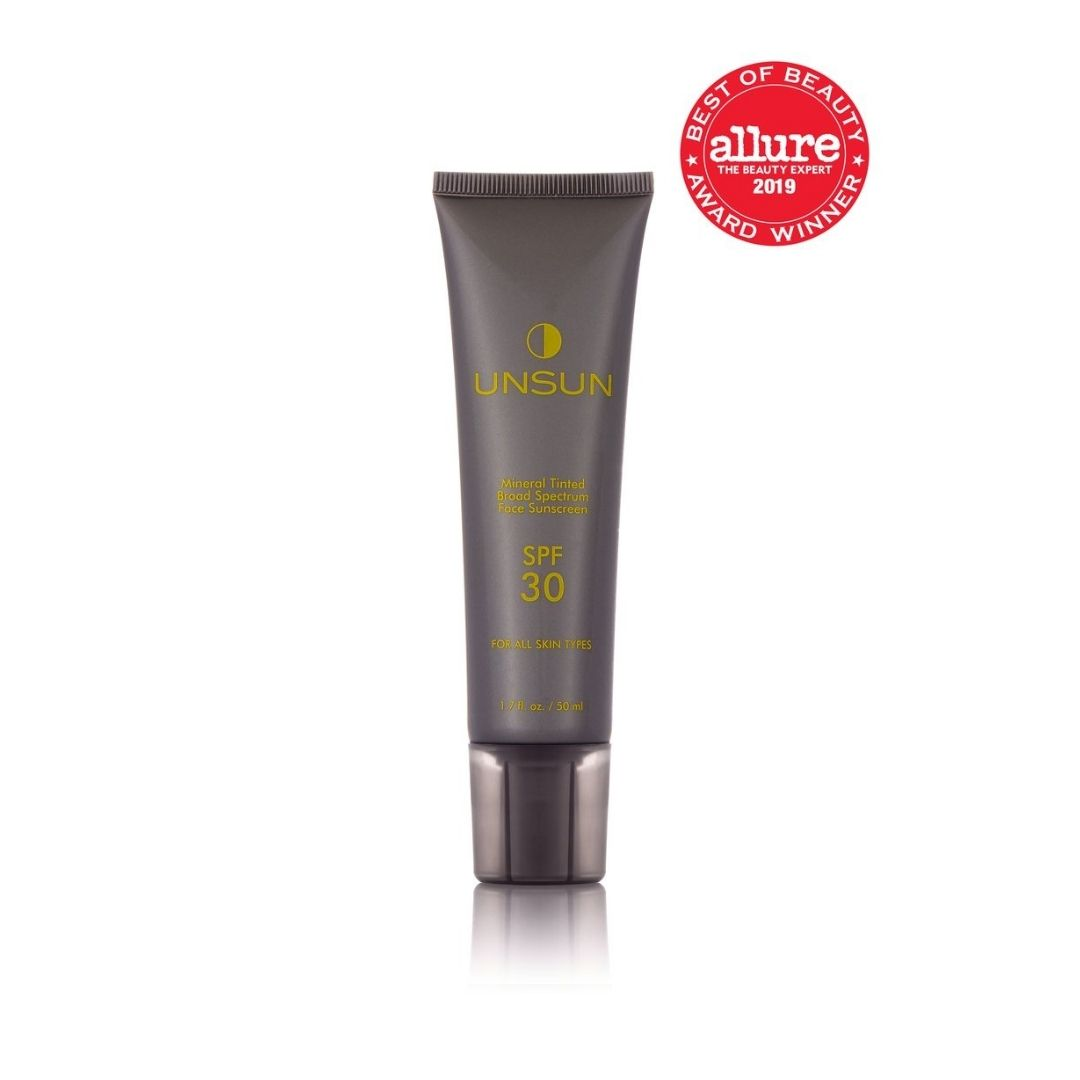 Mineral Tinted Face Sunscreen SPF 30 Medium/Dark