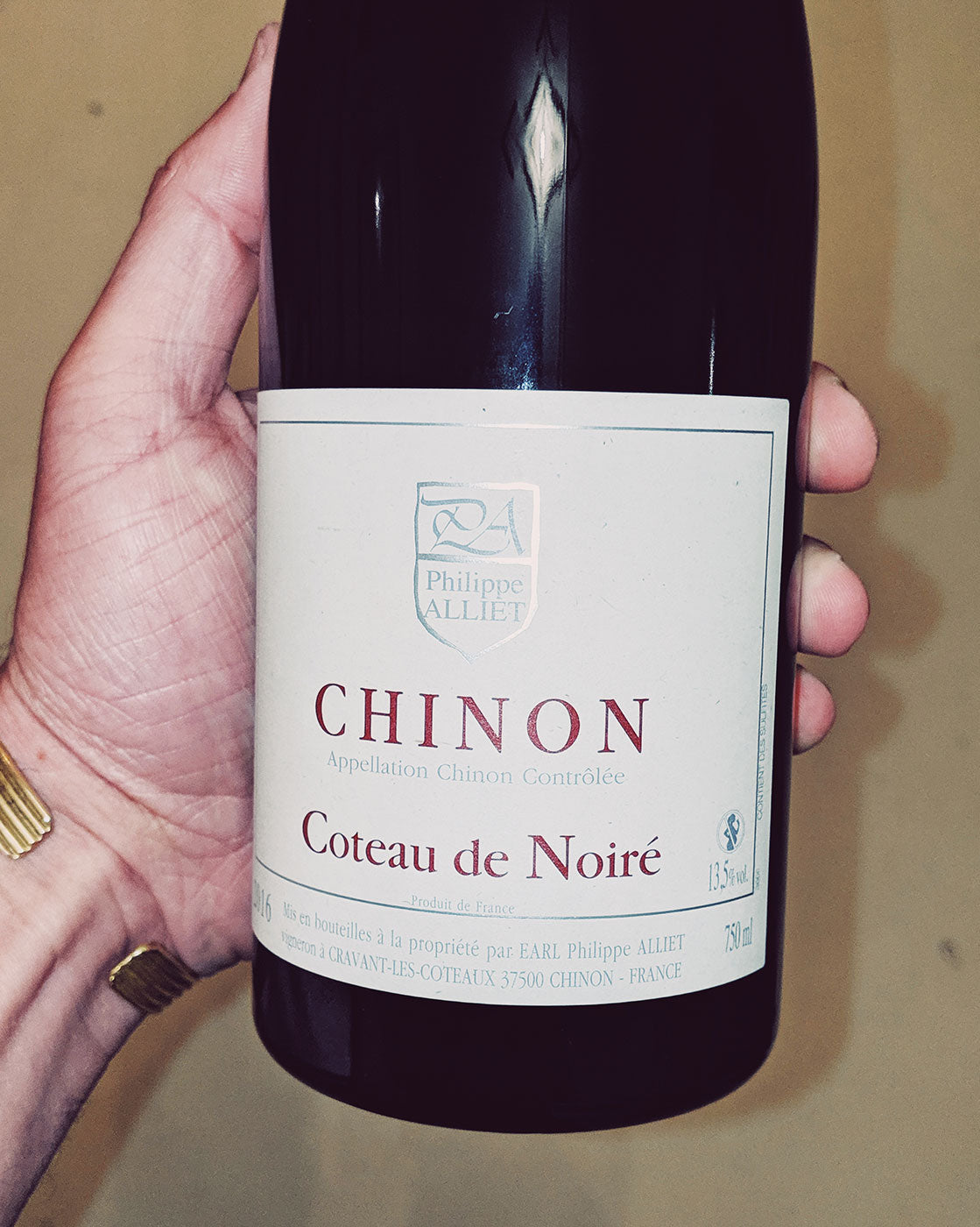 P Johnson Wine Review Philippe Alliet, Chinon, Coteau de Noiré 2016