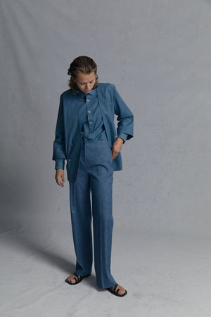denim resort/shirt/trouser