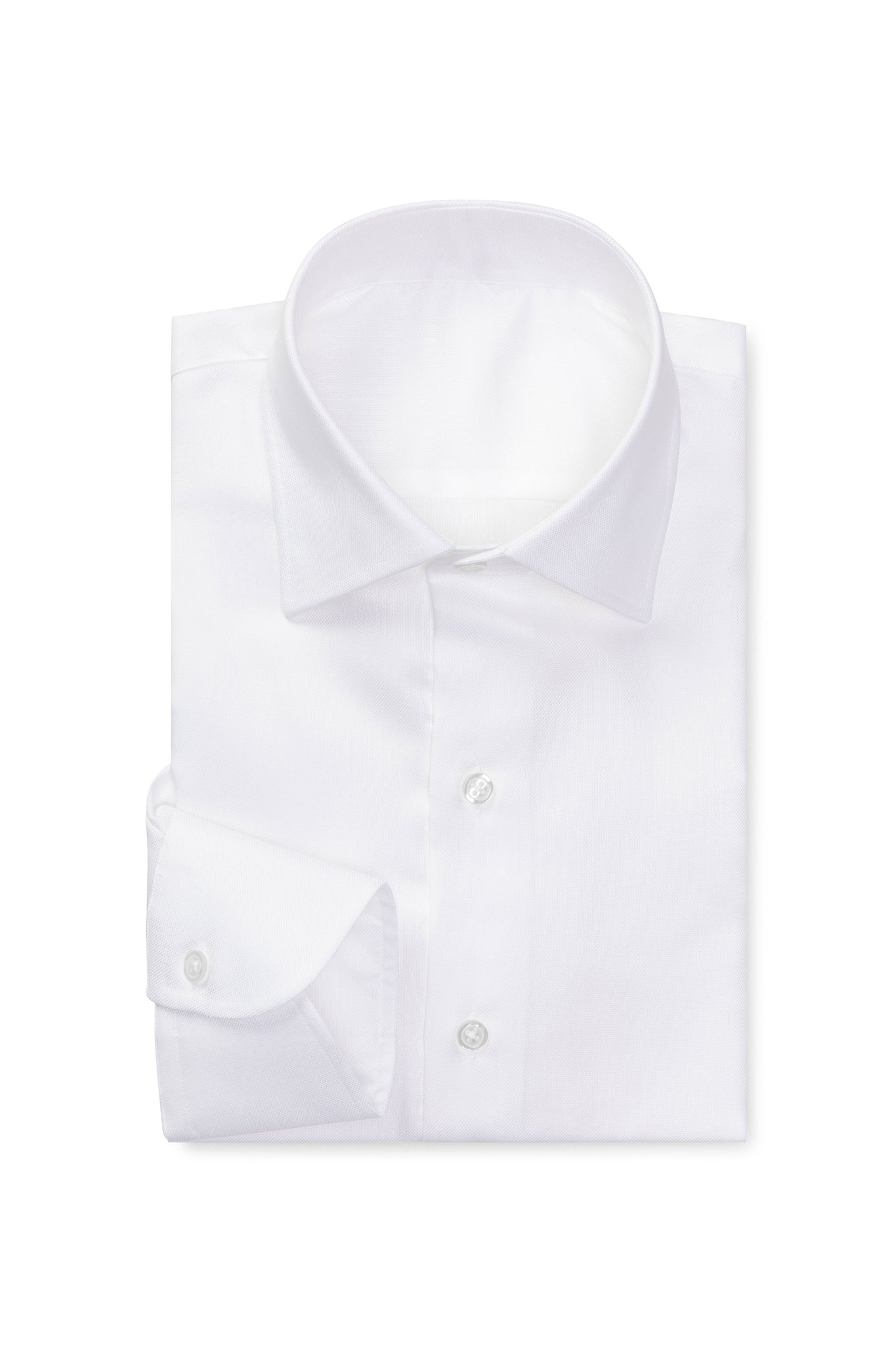 White Royal Oxford Made to Order Shirt