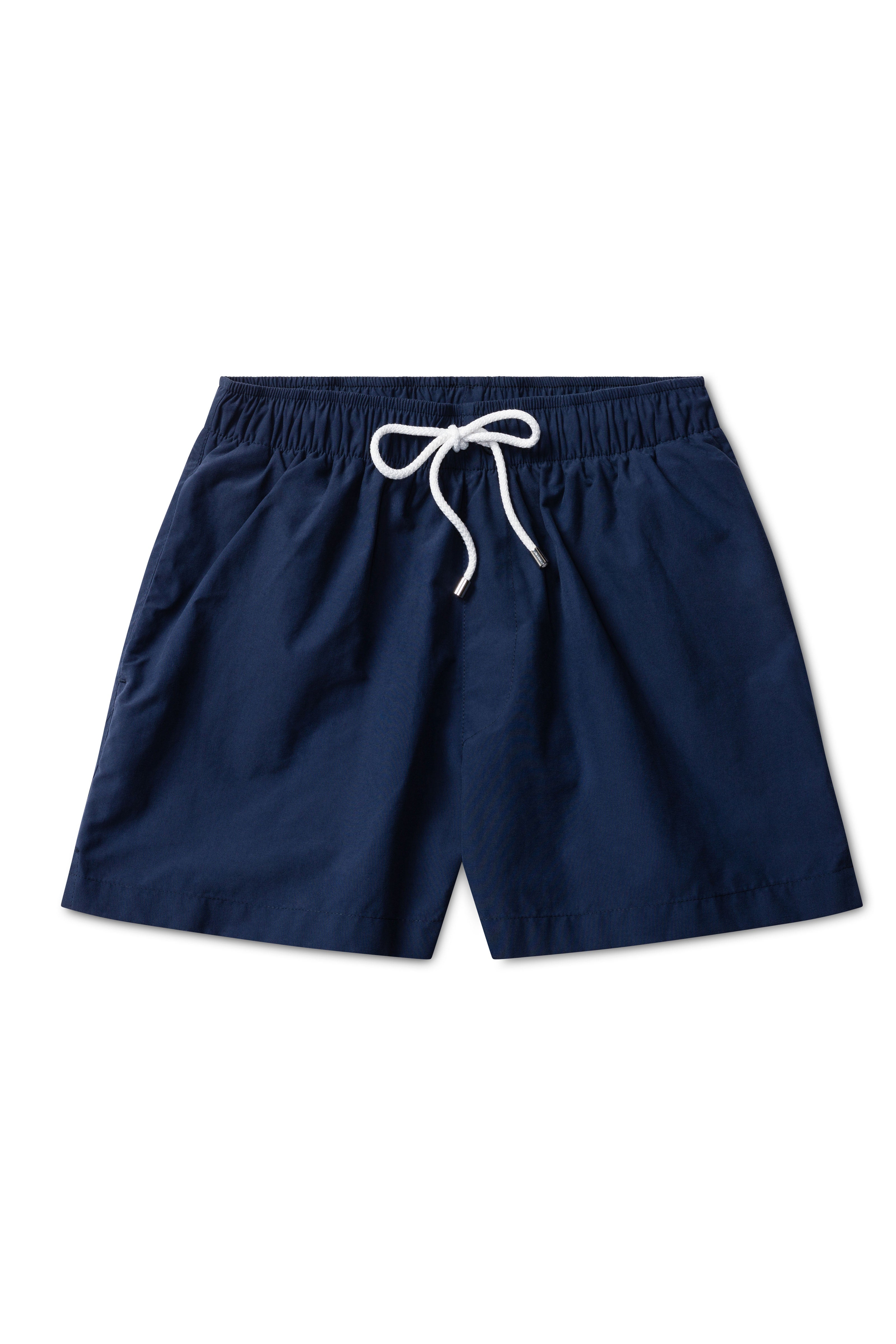 Solid Brushed Navy Swimmers