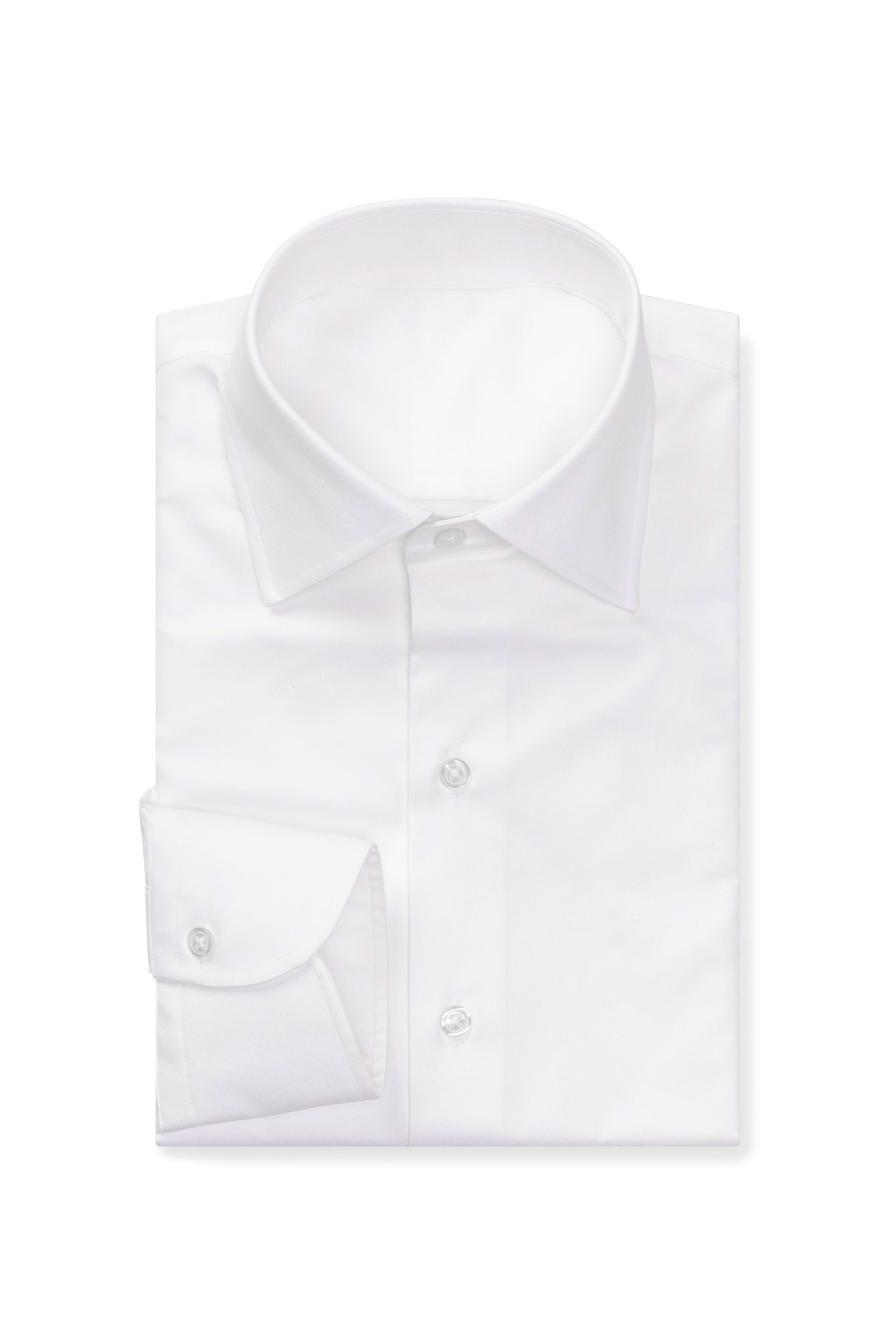 Classic White Twill Made to Order Shirt