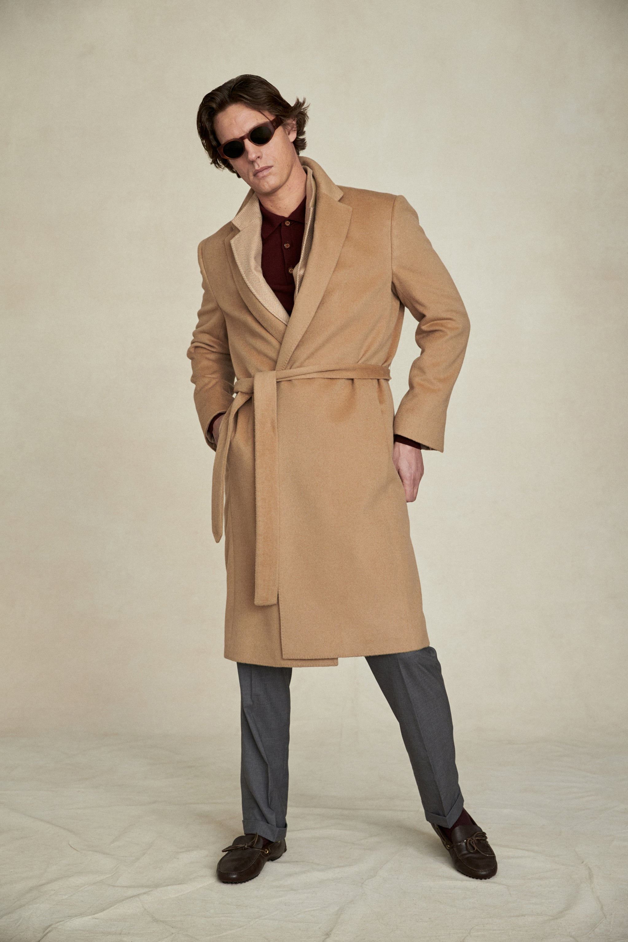 Baby Camel Hair Overcoat