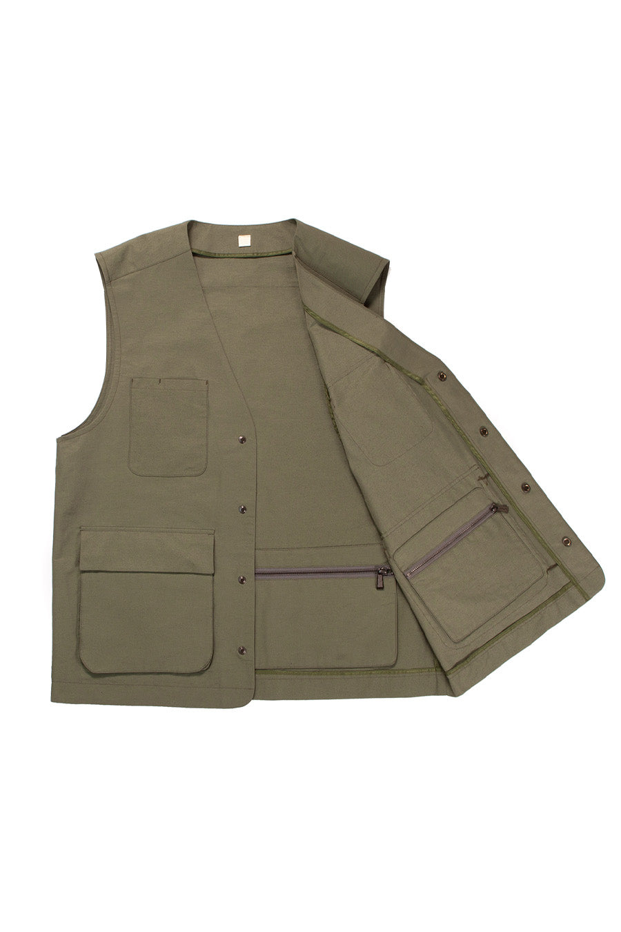 Army Green Technical Utility Vest