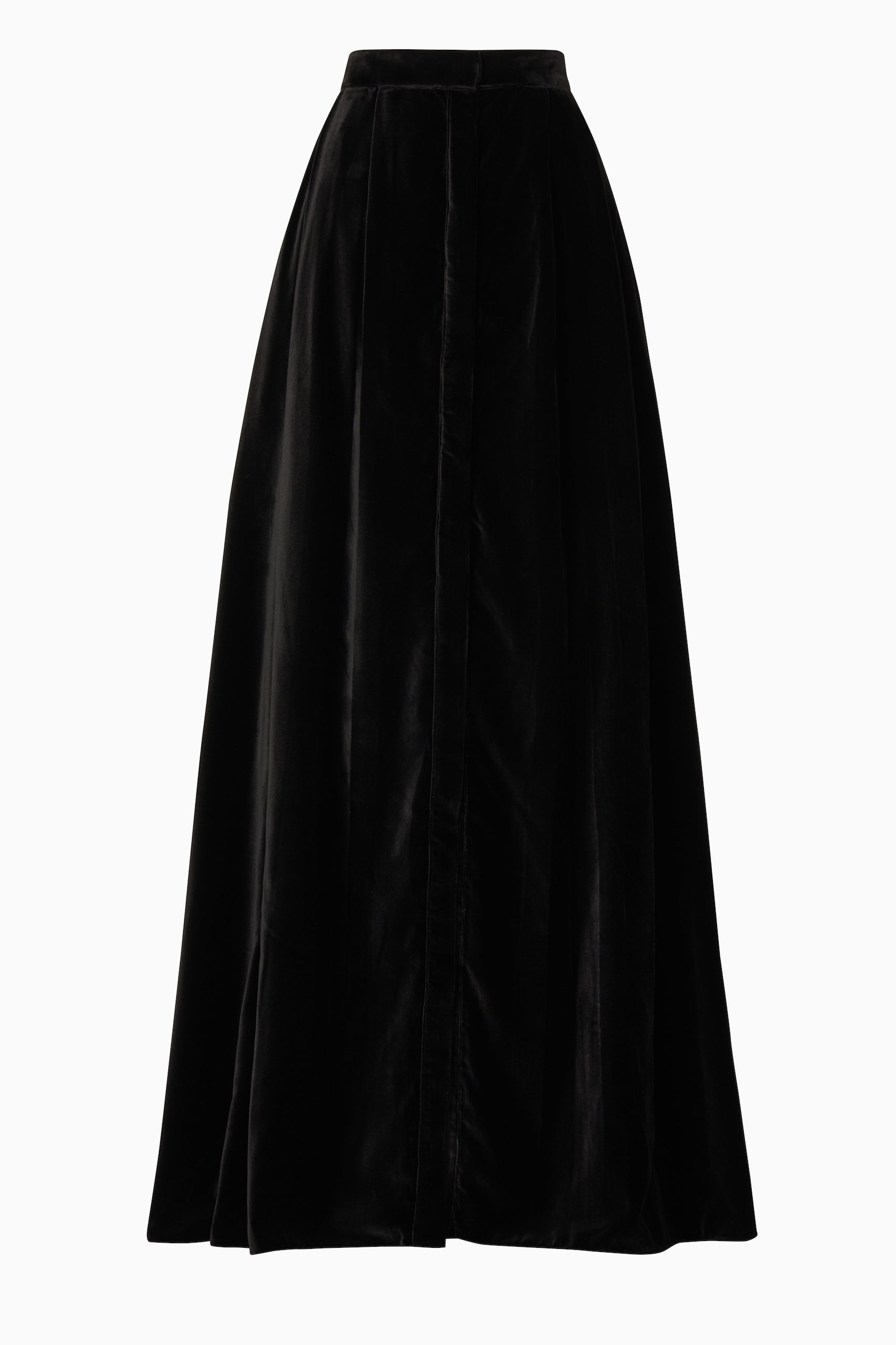 Black Velvet Kahlo Skirt