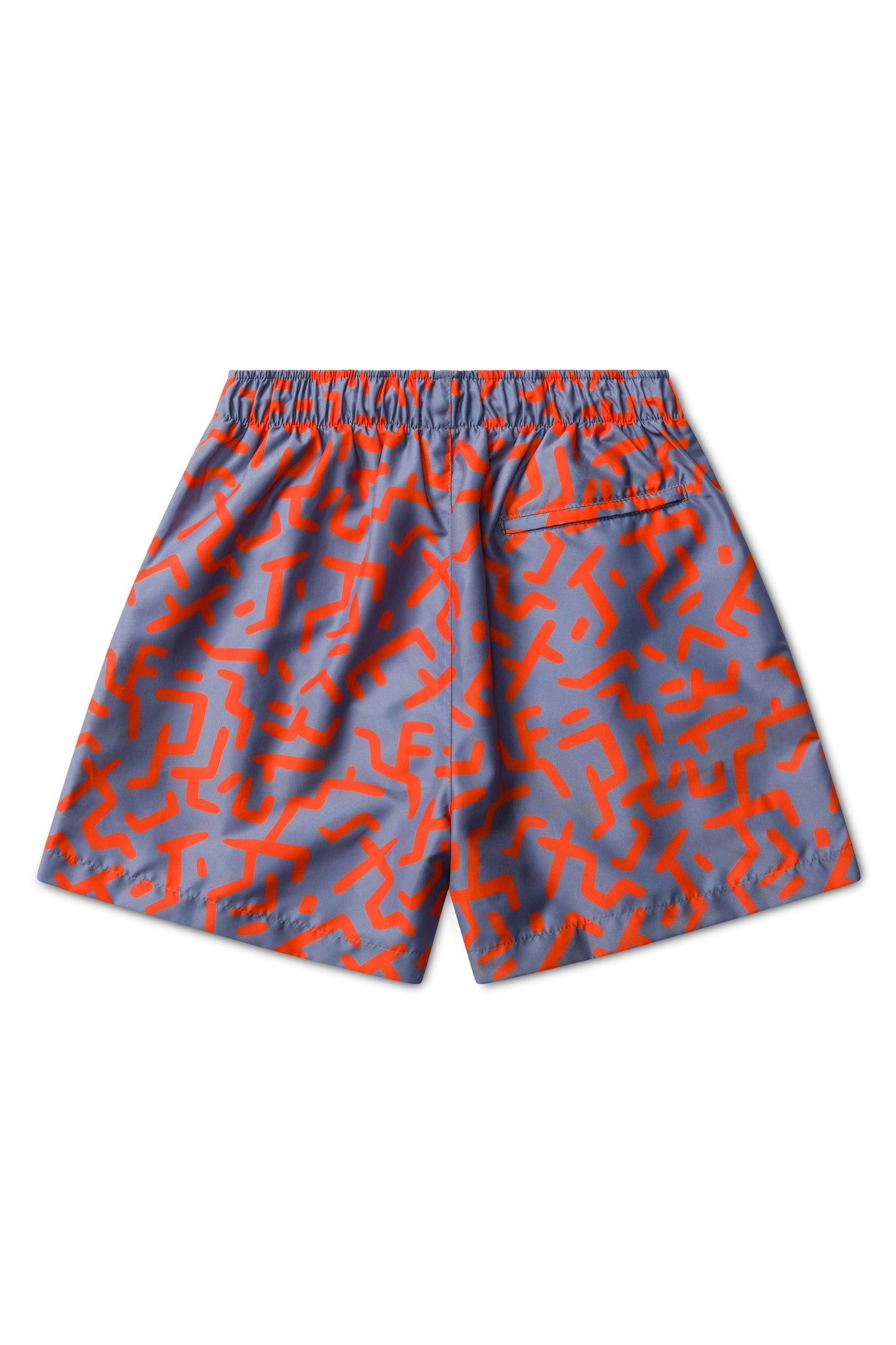 Congo Print with Blue Base Swimmers